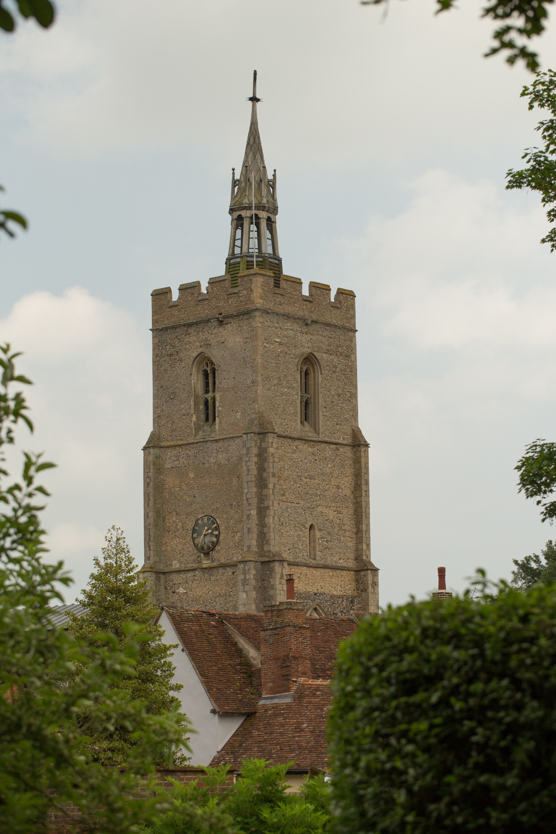 View of St mary's Church Tower from Hendrick House