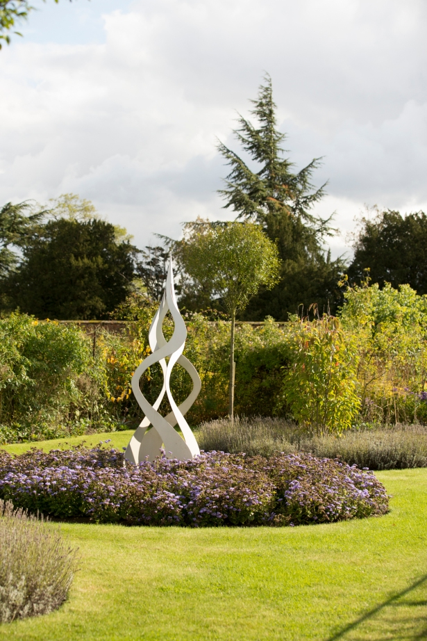 Sculpture in Walled garden